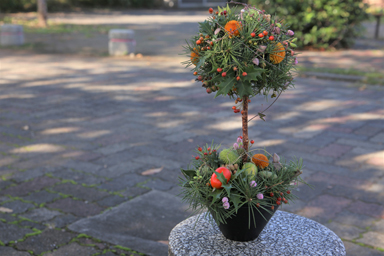 Christmas arrangement2020 - Topiary
